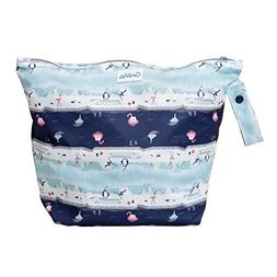GroVia Reusable Zippered Wetbag for Baby Cloth Diapering and