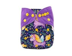 ALVABABY Reuseable Washable Pocket Cloth 1 diapers + 2 inser