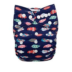 ALVABABY Cloth One Size Reuseable Washable Pocket Cloth Diap