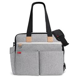 Skip Hop Weekender Travel Diaper Bag Tote with Matching Chan
