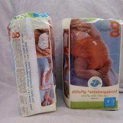 Gdiapers Small Biodegradable Refill Liner Pads Cloth Diaper