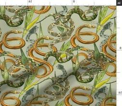 Snake Snakes Natural History Animals Serpent Spoonflower Fab