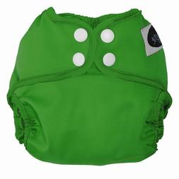 Imagine Baby Products Newborn Snap Diaper Cover, Emerald
