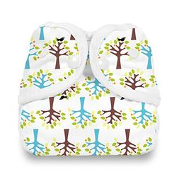 Thirsties Snap Diaper Cover, Blackbird, X-Small