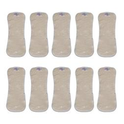Snap-in Hemp/Cotton Inserts for Cloth Diapers, Heavy Wetter