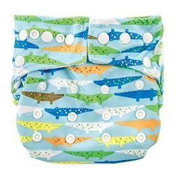 Bumkins Cloth Diaper Snap All-In-One  or Pocket, 7-28lbs, Cr