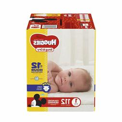 Huggies Snug And Dry Diapers Size 1 Newborn Up New Baby 112