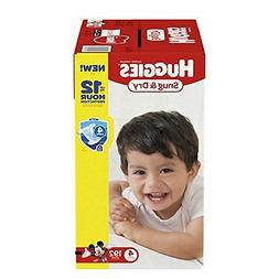 HUGGIES Snug & Dry Baby Diapers, Size 4 , 192 Count, Economy