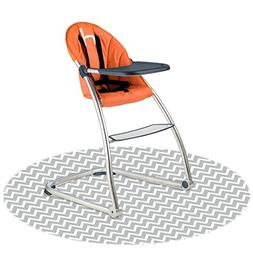 Kushies Baby Splash Mat for Under High Chair, Floor Protecto