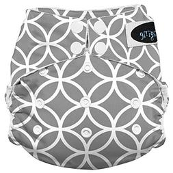 Imagine Baby Products Stay Dry All-In-One Snap Diaper, Ring-
