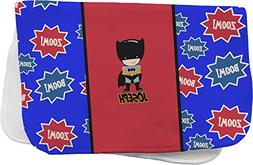 superhero burp cloth