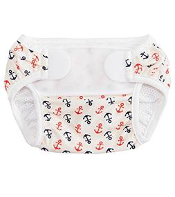 Bummis Swimmi Swim Cloth Diaper - Anchors Away - One Size -