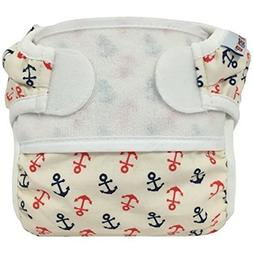 Bummis Swimmi Swim Cloth Diaper - Anchors Away Medium 15 22
