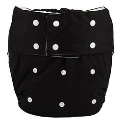 Sigzagor Teen Adult Cloth Diaper Nappy Reusable Washable For