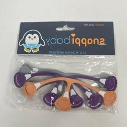 Snappi Cloth Diaper Fasteners - Replaces Diaper Pins - Use