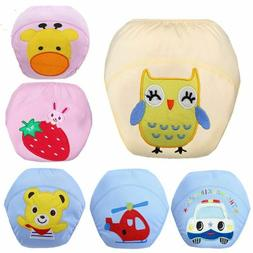 Toddler Diapers For Baby Washable Waterproof Cotton Pants Re