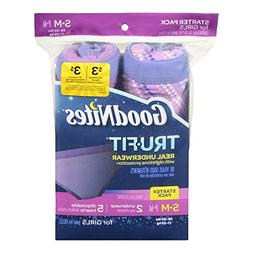 Goodnites Trufit Real Underwear for Girls, Starter Pack Size