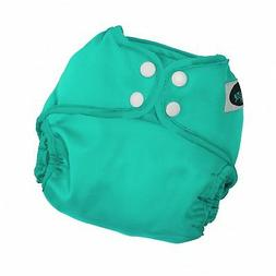 Imagine Baby Products All-in-Two 2.0 Diaper Cover, Snap, Aqu