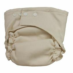 two size fitted cloth diaper