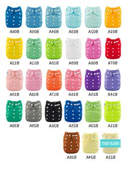 U Pick ALVABABY Cloth Pocket Diapers Reusable Washable Nappi
