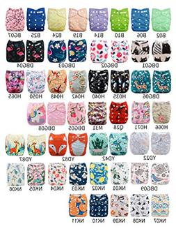Babygoal U Pick Up Baby Cloth Diapers, One Size Adjustable R