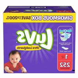 Luvs Ultra Leakguards Baby Diapers Size 1 2 3 4 5 6. Fast Fr