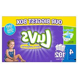 Luvs Diapers sz 4, 192 ct