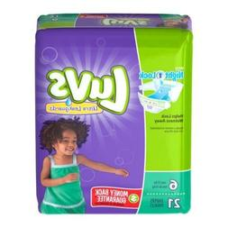 Luvs Ultra Leakguards Diapers - Size 6 - 21 ct