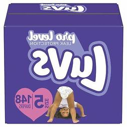 Luvs Ultra Leakguards Disposable Baby Diapers, Size 5, 148 C