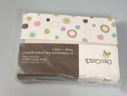 unbleached cotton diapers 6 pre folded natural eco friendly