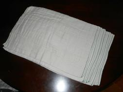 unbleached traditional fit prefold diapers large size