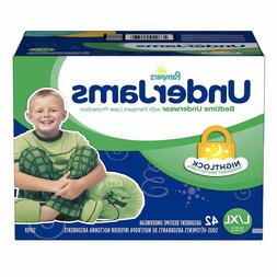 Pampers UnderJams Boys' Bedtime Underwear, Super Pack,