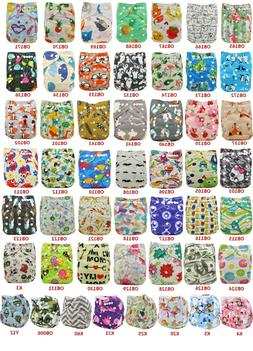 Unicorn Boy Girl Cloth Diapers Pocket Diapers Baby Nappies U