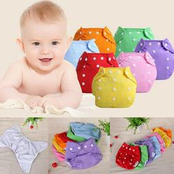 Unisex Baby Kid Newborn Reusable Nappies Adjustable Diaper W