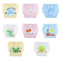 US Baby Cloth Diaper Cartoon Nappy Cover Reusable Washable D