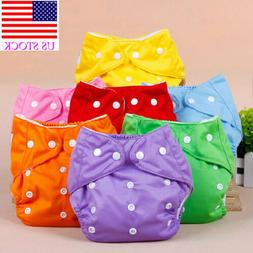 US Baby Newborn Kids Diaper Cover Adjustable Reusable Nappie