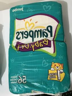 Vintage Pampers Size 1 Diapers Cloth From 2003 52ct Sealed.