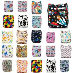 Washable Baby BAMBOO Pocket Nappy Cloth Reusable Diaper CHAR