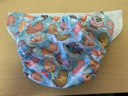 Mama Koala washable Cloth Diaper Cover - New - Piggy Theme -