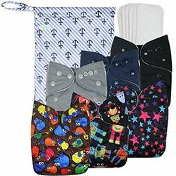 washable reusable cloth pocket diapers