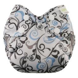 Blueberry Waterproof Newborn Simplex All in One Diapers 6 Pa
