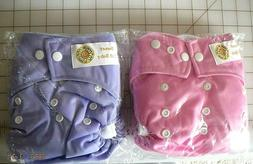 waterproof soft baby cloth pocket diapers
