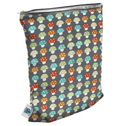Planet Wise Medium Wet Bag Toadstool - Planet Wise Diaper Ba