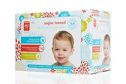 Honest 576-Count Wipes, Natural Cloth Baby Wipes
