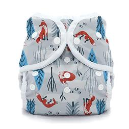 Thirsties Duo Wrap Cloth Diaper Cover, Snap Closure, Foxy Si