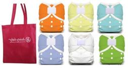 Thirsties Duo Wrap Size 1 Cloth Diaper Cover 6 Pack Gender N
