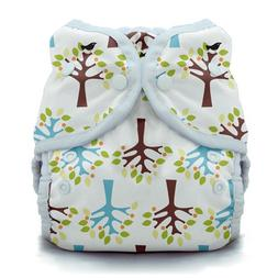 Duo Wrap Snap Diaper in Blackbird, One
