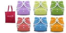 Thirsties Duo Wrap Snaps Size 1, Gender Neutral, 6 Pack with