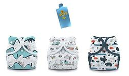 Thirsties Duo Wrap Snaps Diaper Covers 3 pack Combo: Adventu